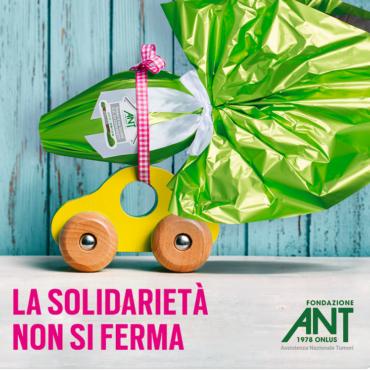 I regali di Pasqua ANT sostengono l'assistenza domiciliare gratuita ai malati di tumore anche in tempo di Covid